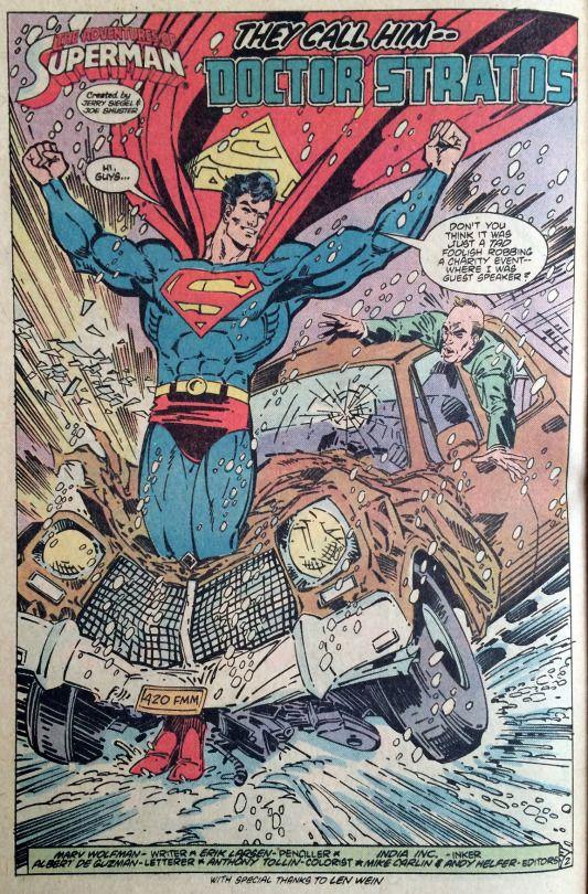 Supermanbazaar Superman Adventures Of Superman Wolfman