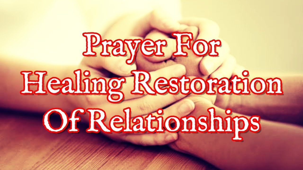 Prayer Of The Day - Restoration For Separated Couples |Restoration Of Relationship