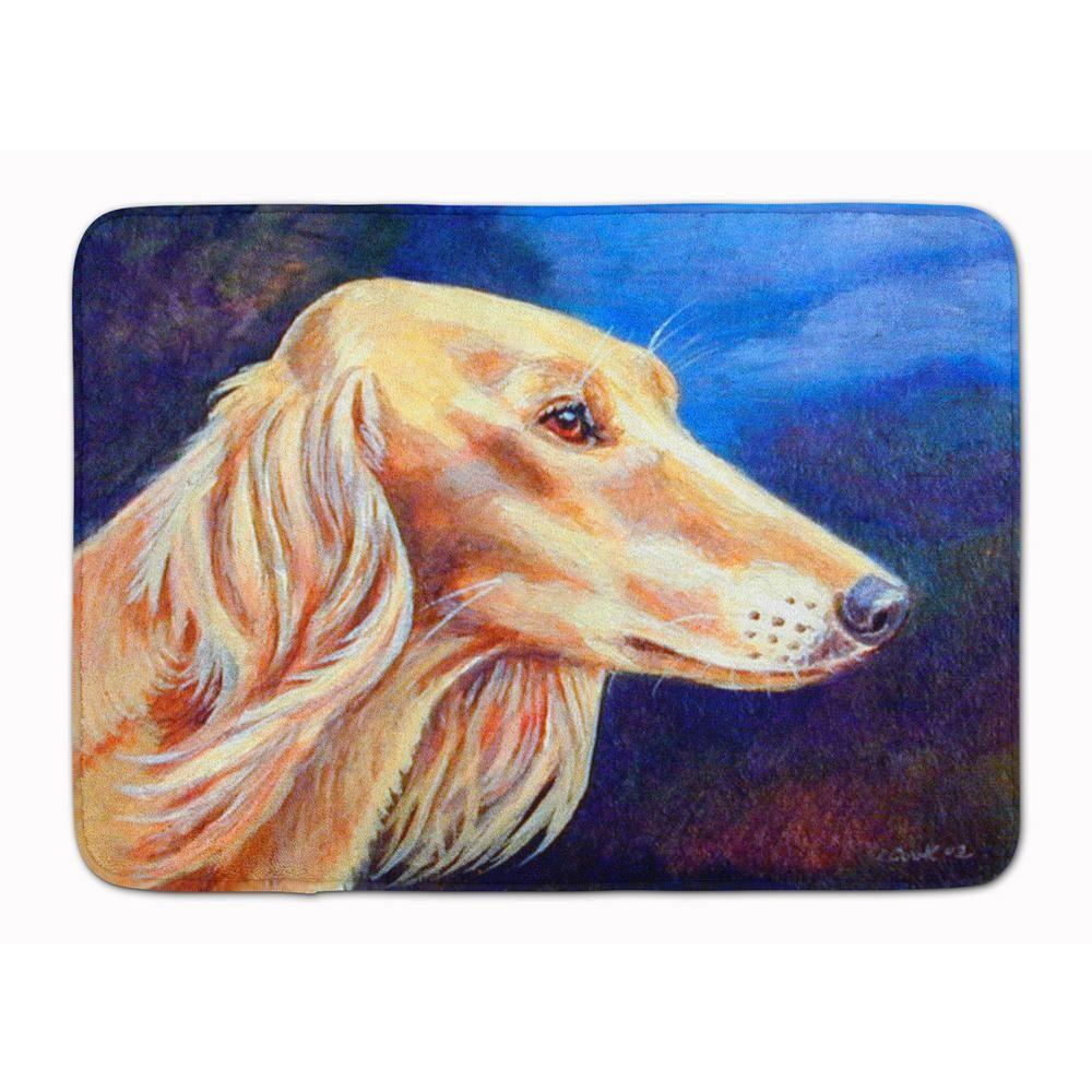 Carolines Treasures Irish Wolfhound 19 x 27 Multicolor