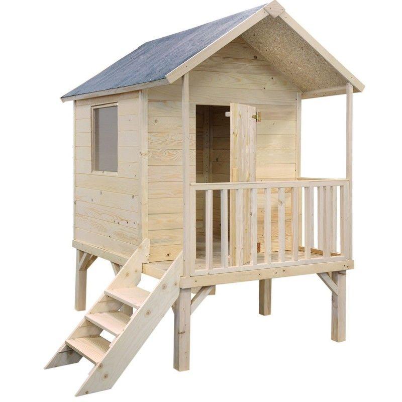 Je cherchais une nouvelle cabane en bois pour mes enfants sur pilotis avec  toboggan. Ils ont bien joué dans leur cabane à Nantes, mais maintenant nous  ... f8890fed8881