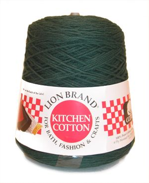 Lion Cotton 1 Pound Cones Yarn From Brand Fiber Things Pinterest Yarns Crochet And Kitchen