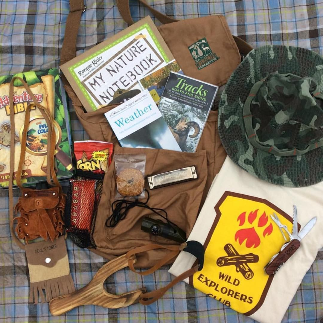 """Wild Explorers Drew and Noah completed their first Wolf assignment to put together and adventure pack. It's all part of ""embracing the life of an…"""