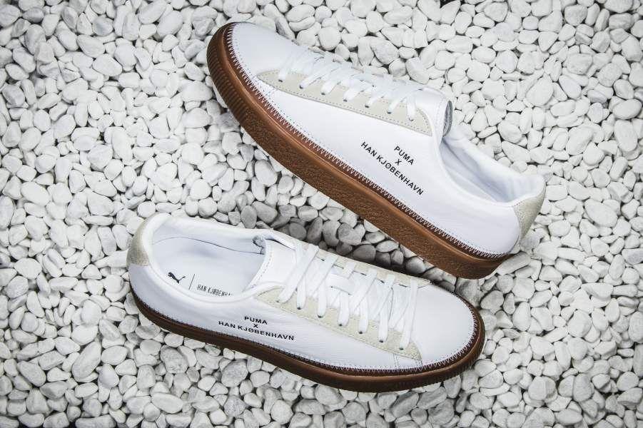8ea3710c Puma - x Han Kjøbenhavn Clyde Stitched (weiß) - 364474-1 | Sneakers ...