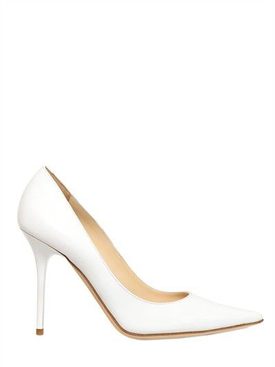 Simple Women's White Stiletto Heel Pointed Pumps/Heels Shoes ...