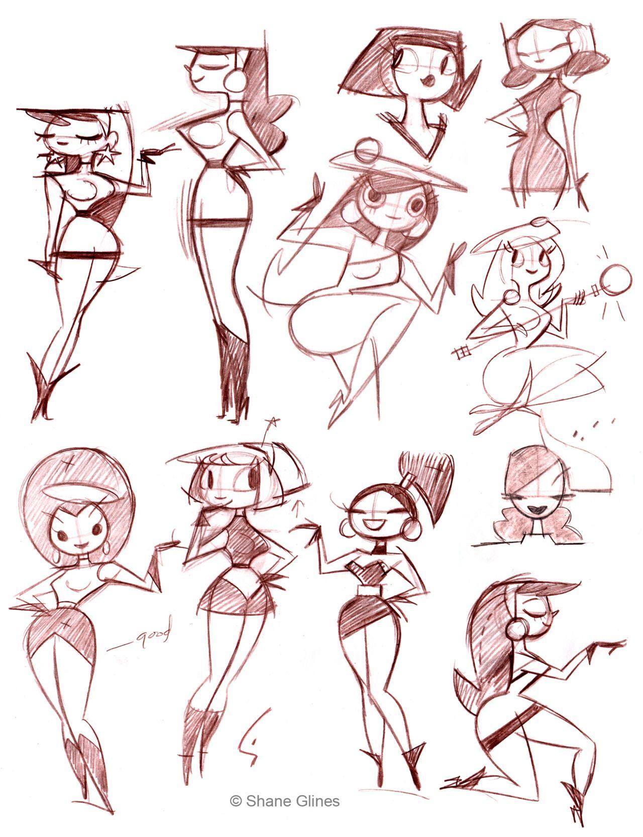 Illustrator: Shane Glines   ART - I likes what they drew   Pinterest ...