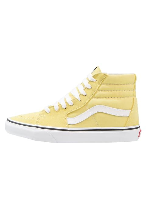 vans jaune clair