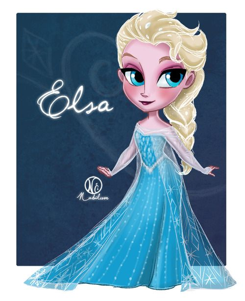 nabilum:  Chibi Elsa.