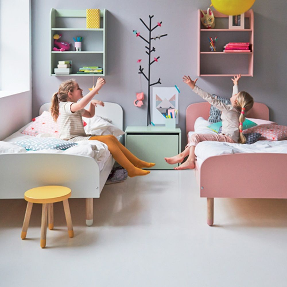 Flexa Play Kids Single Bed In Rose