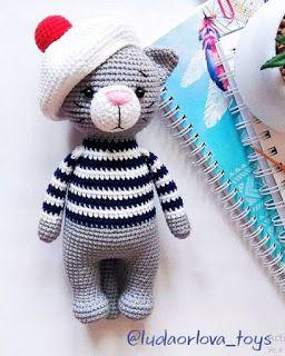 Amigurumi Cat (Free English Pattern) – Amigurumi