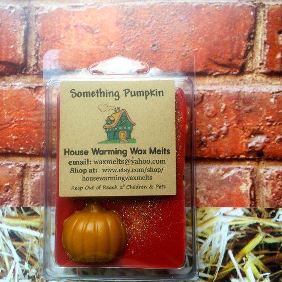 Wax Melt  Something Pumpkin  3.5 oz. by HouseWarmingWaxMelts, $3.50