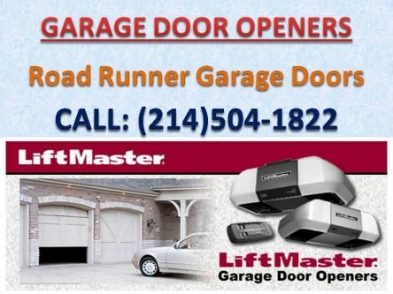 Get Services For All Major Brands Of Garage Door Openers And Their