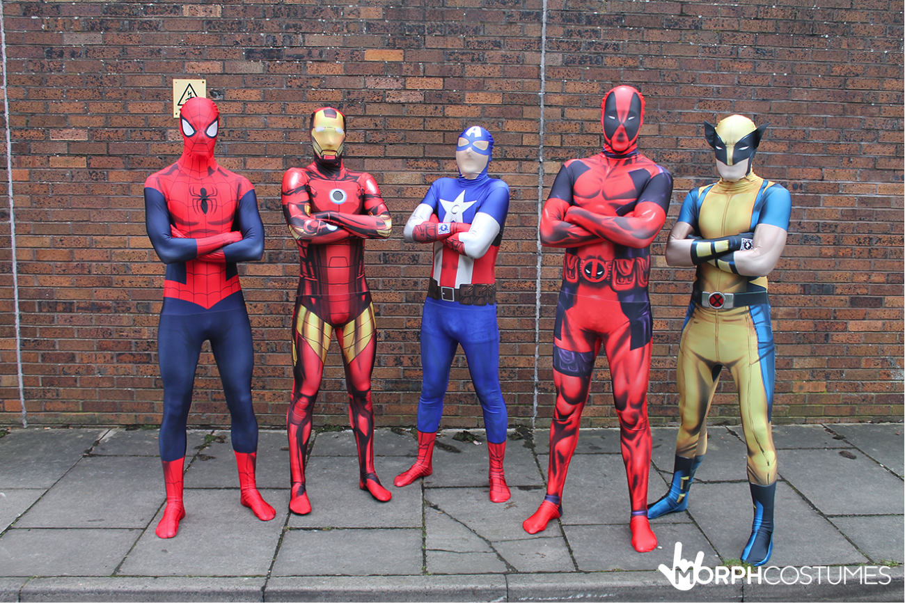Superb Group Costume Inspiration: The First Rule Of Being A Marvel Superhero Is  High Quality Spandex, And At MorphCostumes, We Can Offer You That And So  Much More.