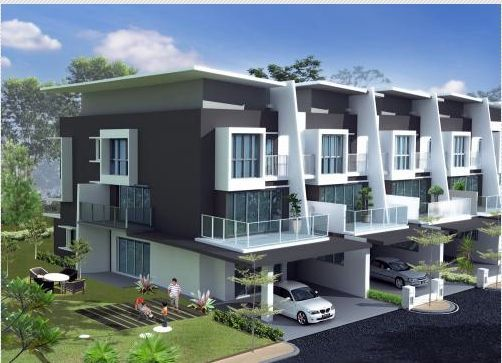 Image Result For Luxury Houses Malaysia Modern Townhouse