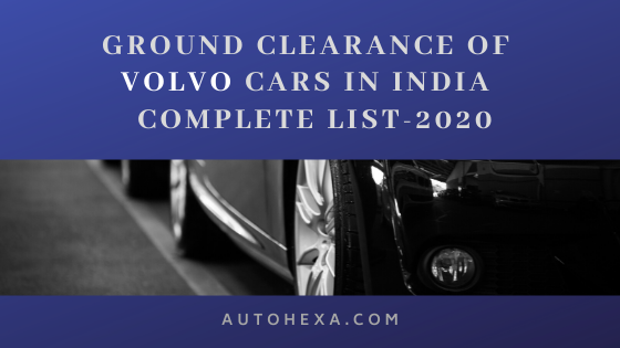 Pin On Ground Clearance Of Vehicles