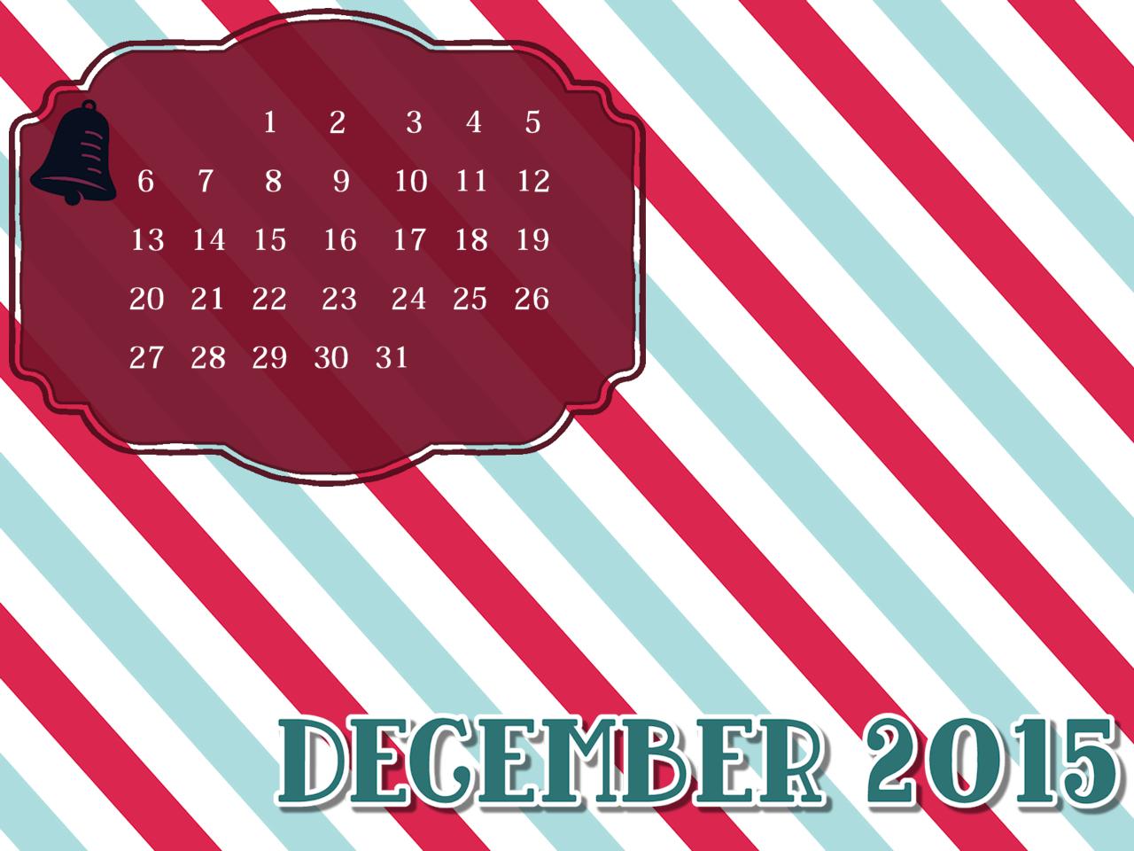 December 2015 Desktop Mobile Wallpaper