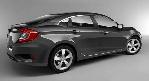 หล ดราคา Honda Civic 2016 ใหม แพงข นกว าเด มแค 5 พ นบาท ฮอนด า