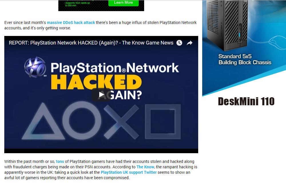 Home News Gaming PlayStation Network hacking spree hits UK