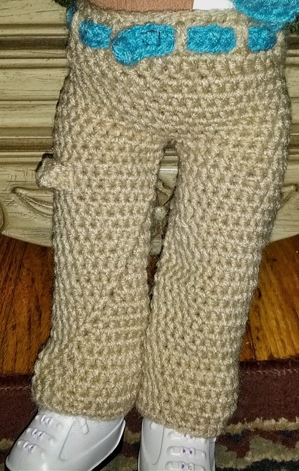 Raising 4 dinosaurs free pattern carpenter pants for an american this is a free crochet pattern for the american girl or 18 inch doll bankloansurffo Choice Image