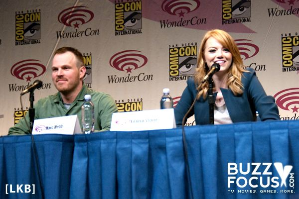 My feature article on Amazing Spider-Man from Wondercon 2012 with Emma Stone (Gwen Stacy) and director Marc Webb.