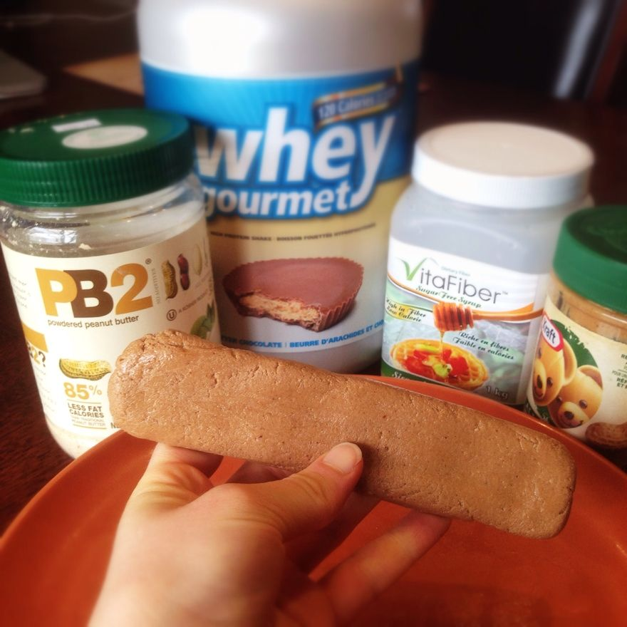 Copycat peanut butter victory bar protein bars low carb