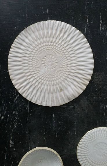 Matt White Handmade Ceramic Plate | Lukkili on Etsy