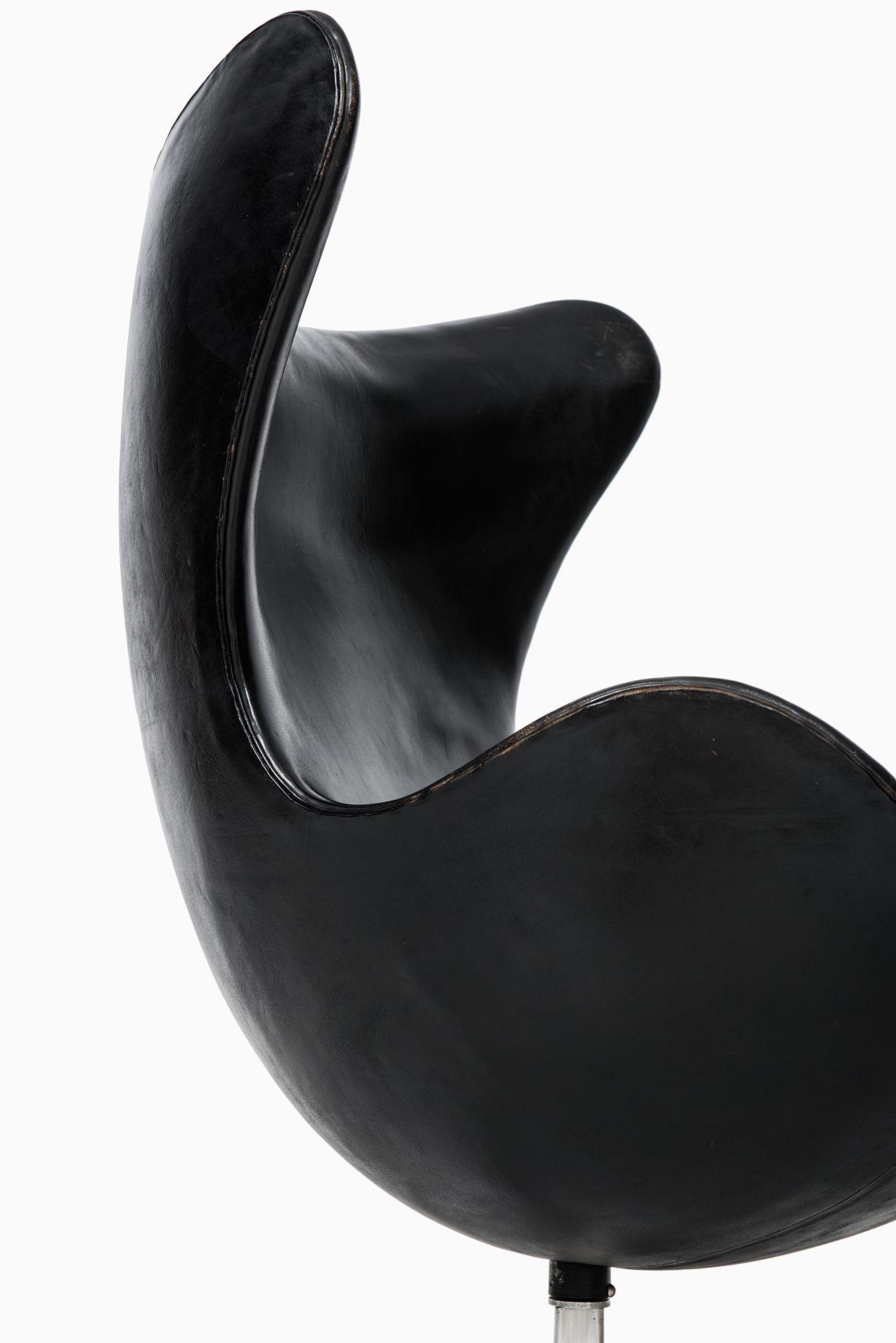 Arne Jacobsen Egg Chair Egg Chair Leather Chaise Lounge Chair