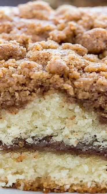 Cinnamon Crumb Coffee Cake Recipe Crumb Coffee Cakes Cake Recipes Desserts