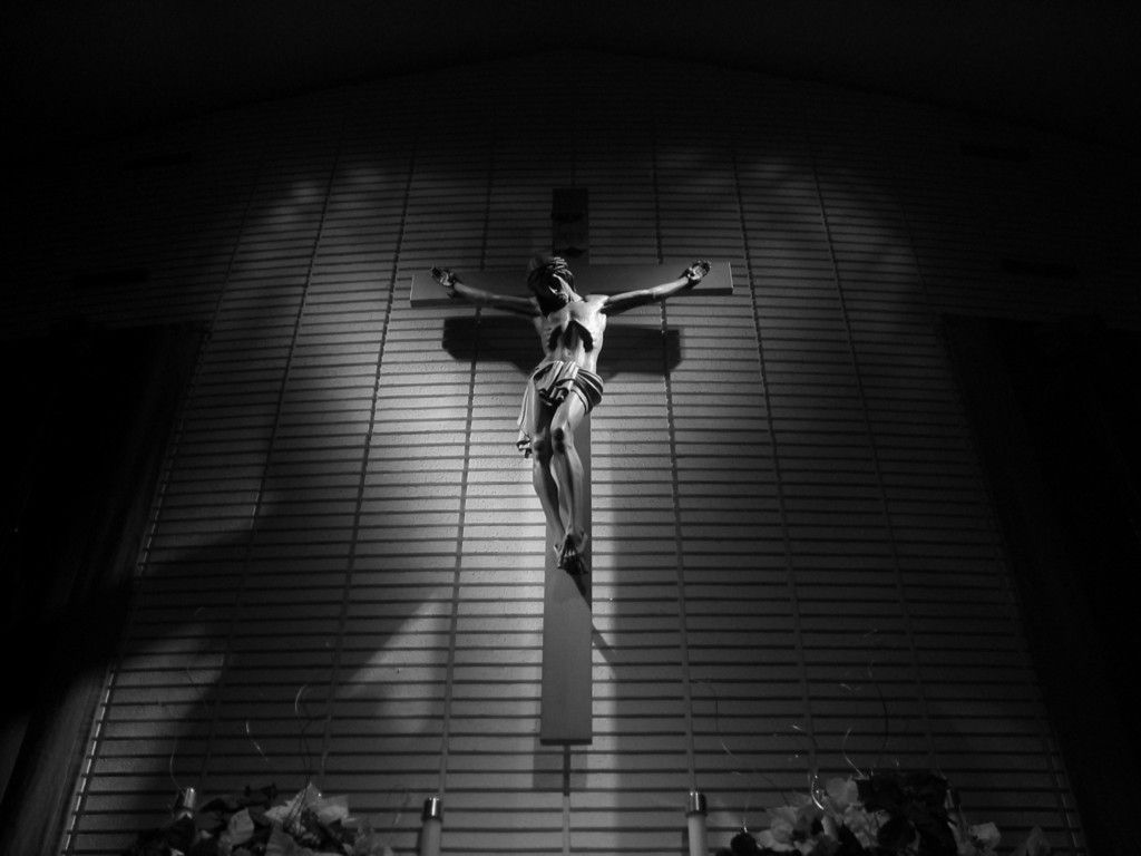 Black And White Jesus On Cross Black And White Christian Wallpaper Good Friday Images Jesus Pictures Jesus Wallpaper