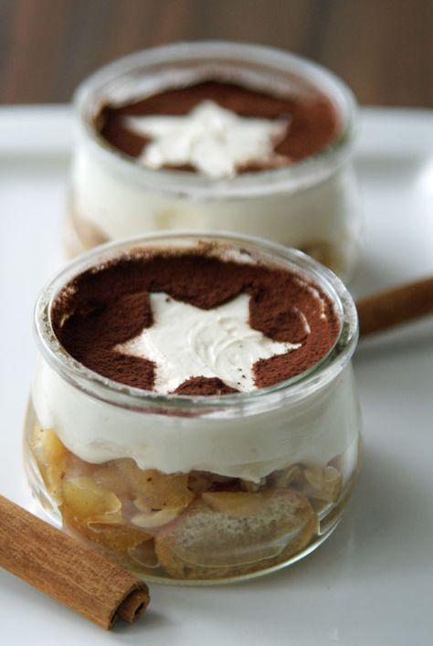 Photo of Postre de Navidad: tiramisú de manzana al horno | Lentamente cocina mejor