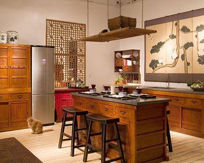 Japanese Home Decorating This Is An Intriguing Look For A Kitchen Diseno De Interiores Cocinas Decoracion De Unas