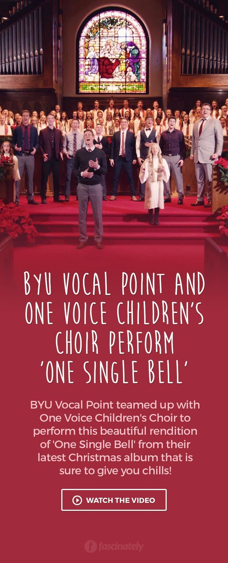 BYU Vocal Point and One Voice Children\'s Choir Perform \'One Single ...