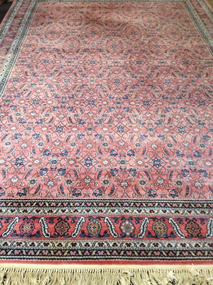 Rare KARASTAN Antique Feraghan Rug 754 8 X 12 Room Size Excellent Condition