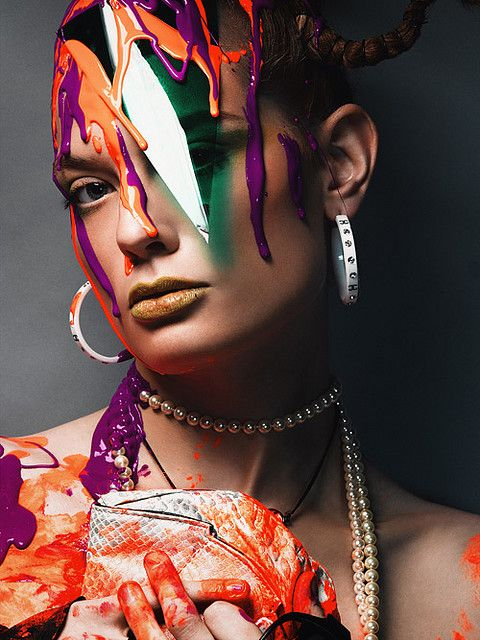 (via antm cycle 10 paint drip - a gallery on Flickr)