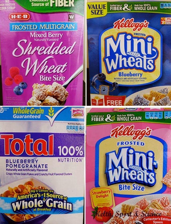 """Health, Sport & Science: """"Fruta"""" en los cereales ¿sabes lo que comes?"""