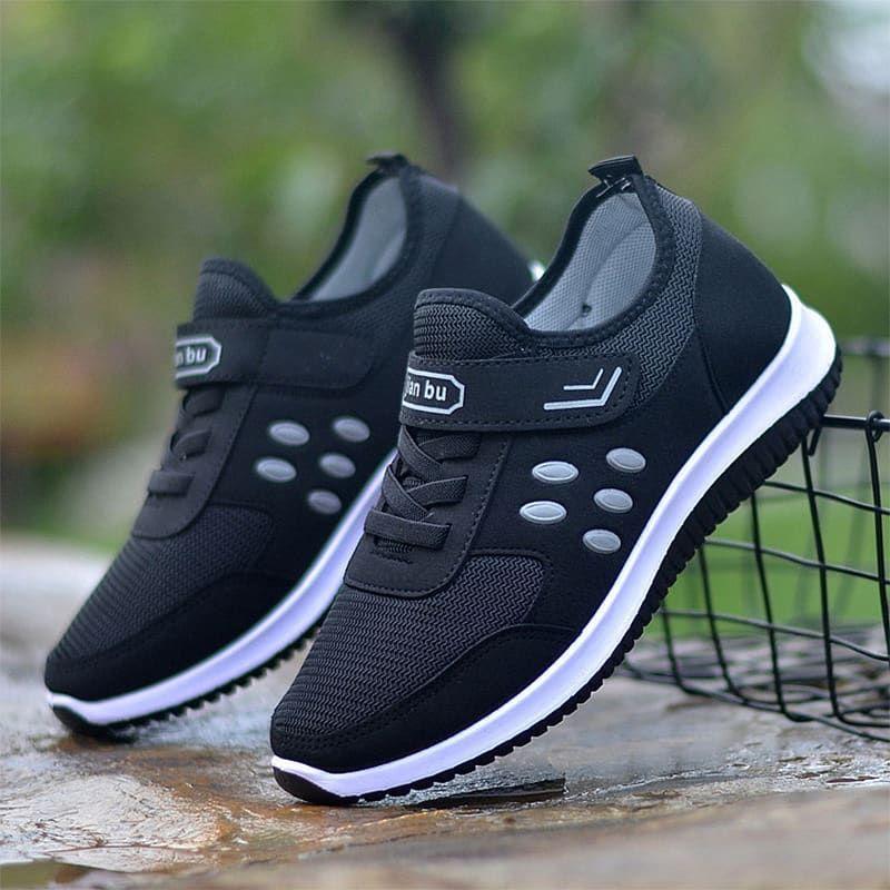 Nama Produk Sepatu Velcro Hitam A65 Price 140k Size Dan Warna
