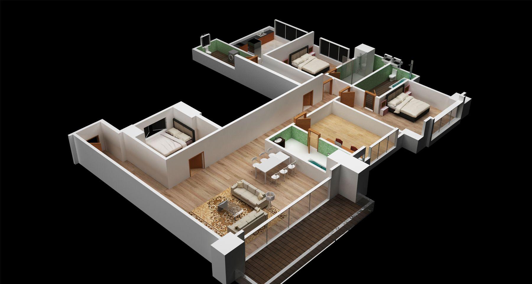 3d Floor Plan Download Evermotion Floor Plans How To Plan Flooring