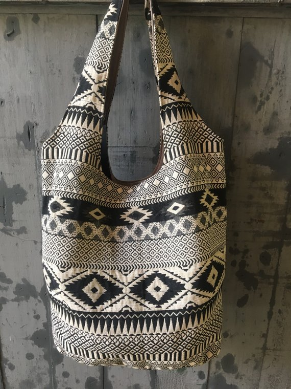 Tribal Bag, Ethnic bag with wide Straps, Shoulder Bag, Travel Bag, Gypsy  Bohemian Bag, Boho Chic ba 99686d1e02