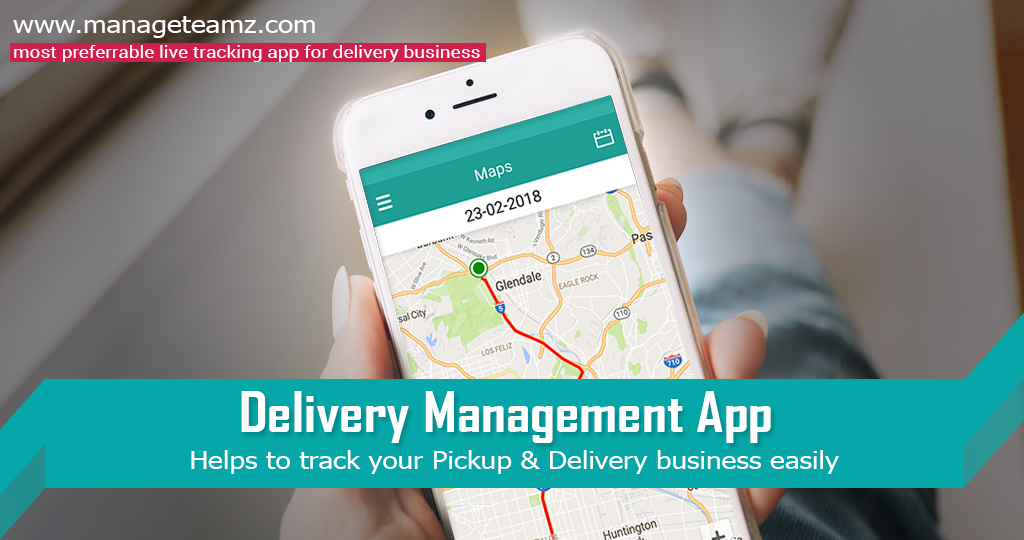 Follow your delivery agent all the way from pickup to