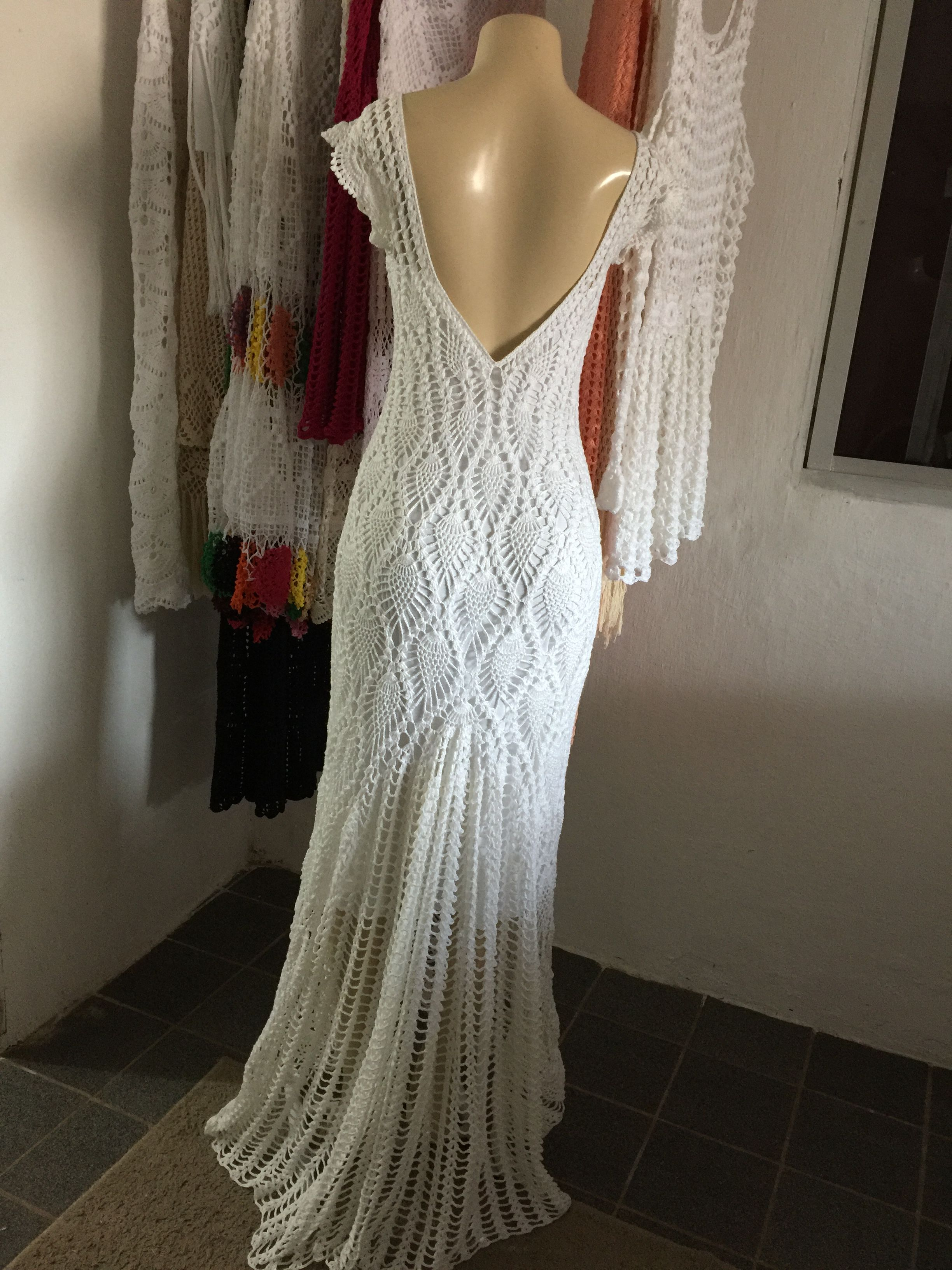 Pin von Pacharee Yamwithaya auf Crochet Dress | Pinterest ...