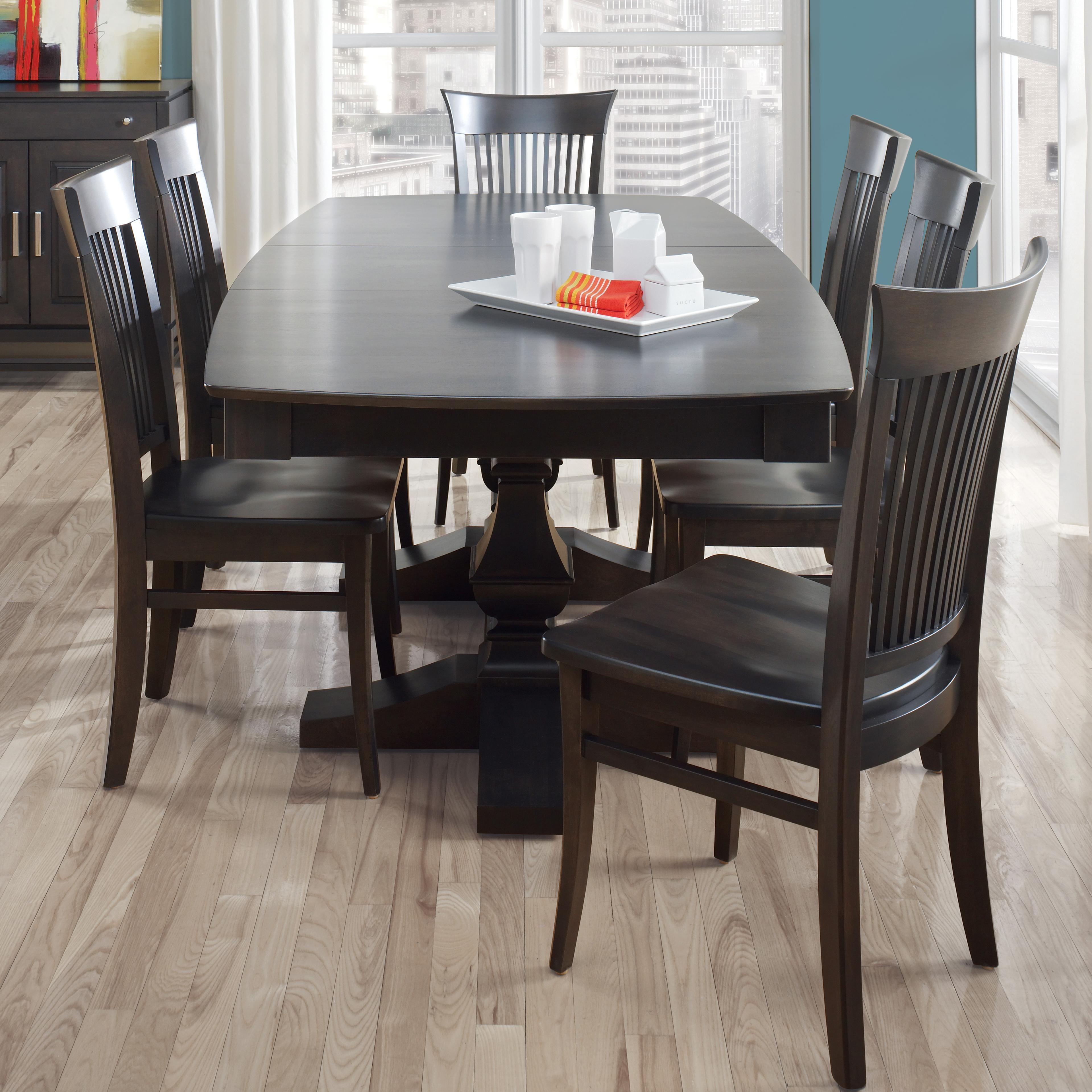 Custom Dining Bcustomizableb Boat Shape Table Setcanadel Simple Custom Dining Room Tables Inspiration Design