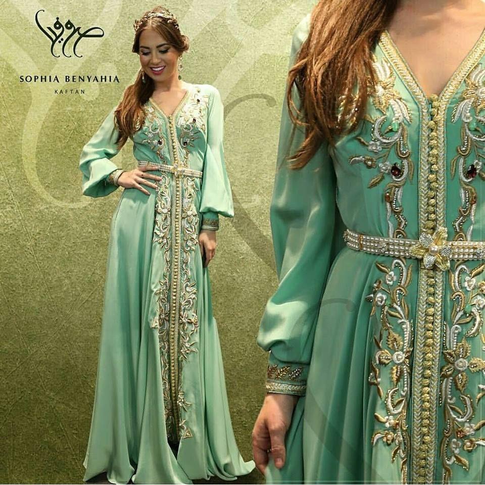 Nouvelle collection caftan 2018   takchita et caftan Marocain haute couture  en vente sur mesure au prix pas cher 17d2a864925