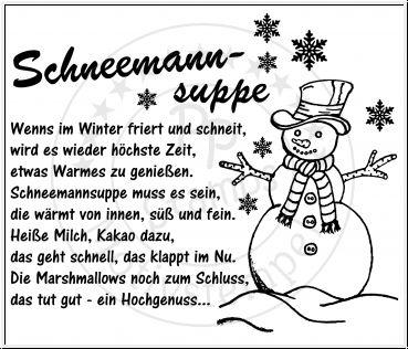 Pp Stamps Stempelgummi Unmontiert Schneemannsuppe Spruch Schneemannsuppe Weihnachtsgeschenke Selber Basteln Originelle Diy Geschenke