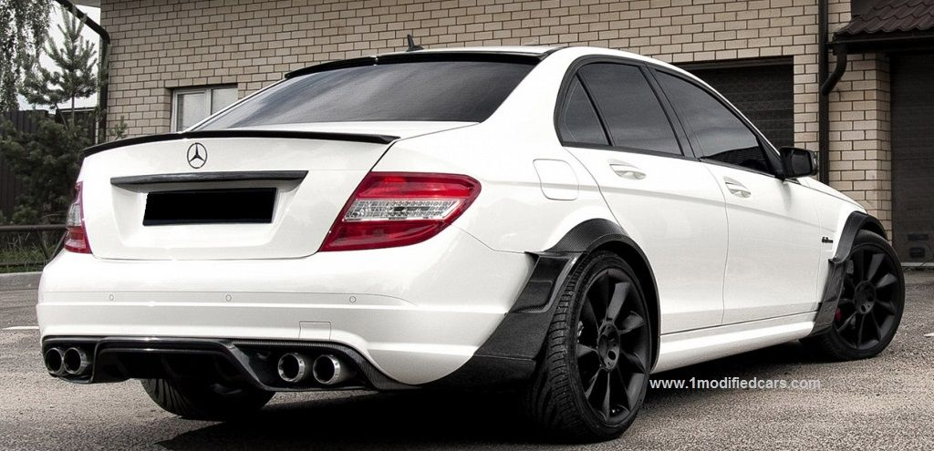Modified Mercedes Benz C Class 3rd Generation W204 Http Www