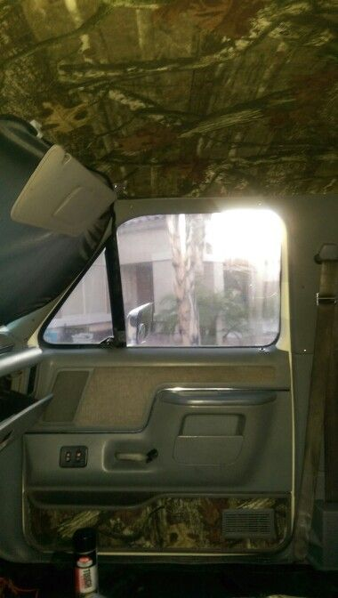 Mossy Oak Head Liner And Door Panel 1988 Ford Bronco Mh 4 30 Ford Bronco Bronco Ford