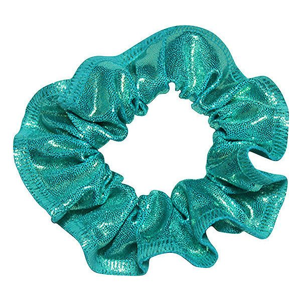 GYMNASTICS HOLOGRAM HAIR SCRUNCHIES IN 3 COLOURS DANCE