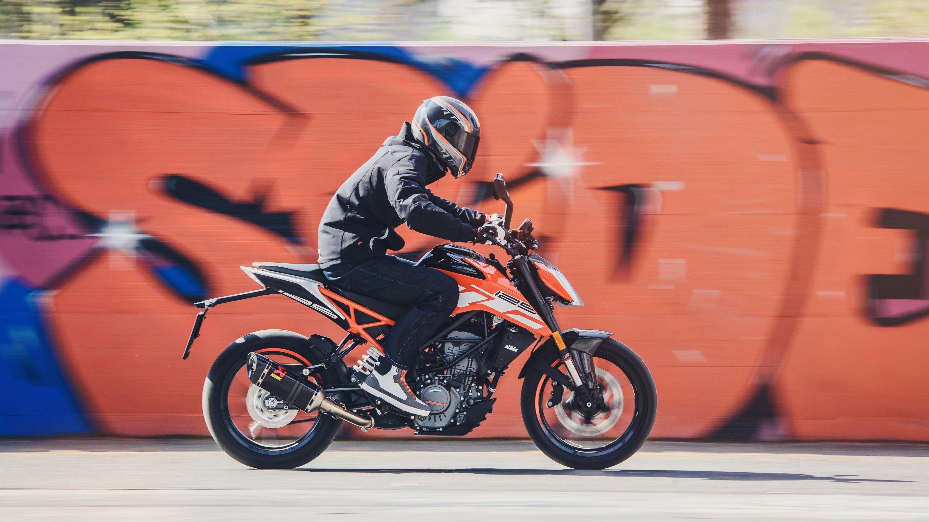 2018 - 2020 KTM 125 Duke @ Top Speed | Ktm, Ktm 125 duke, Ktm 125