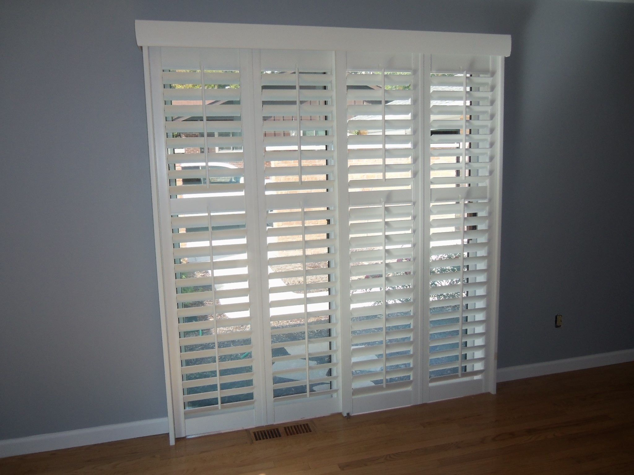 Buy Customized Shades for French doors Drapery Room