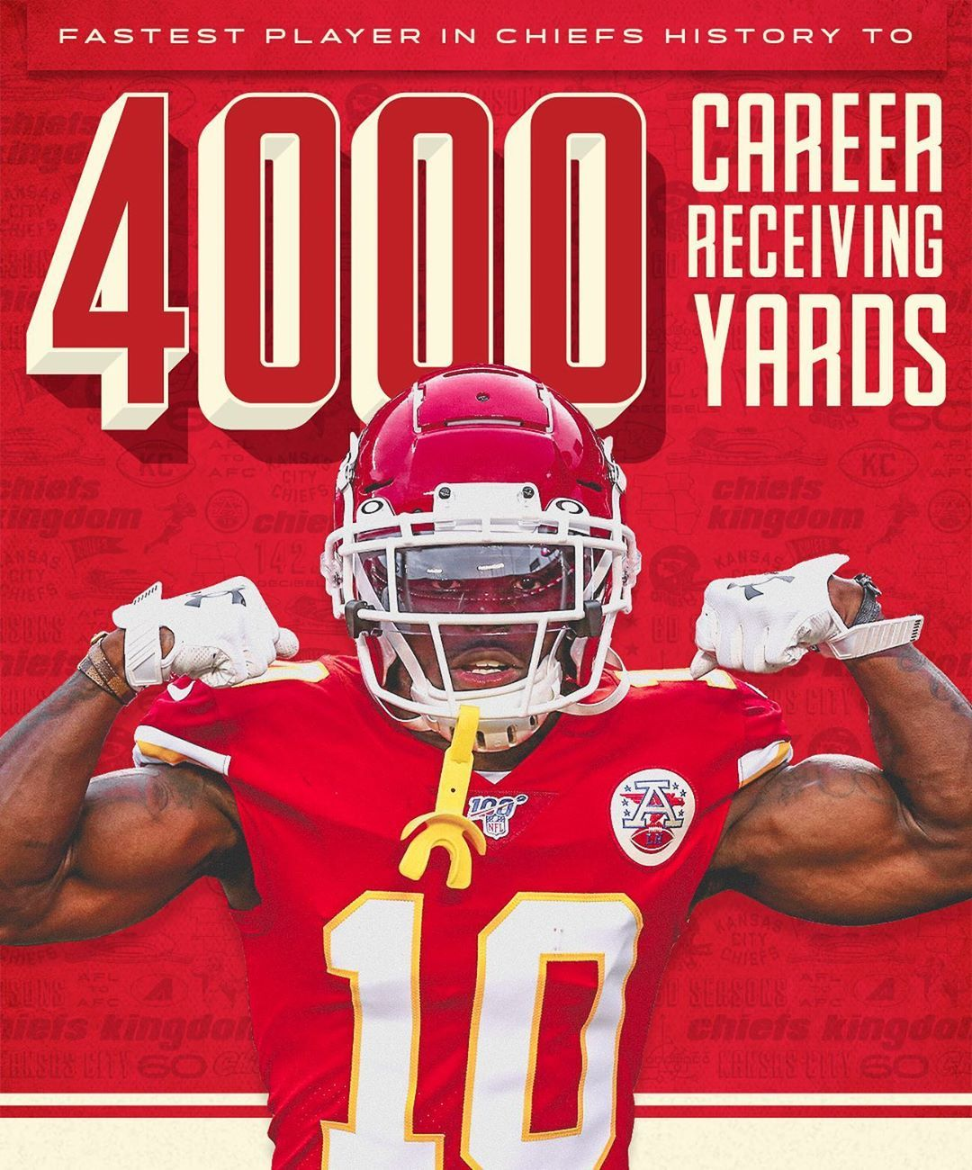 Kansas City Chiefs On Instagram Another Record For The Fastest Man In The Nfl Kansas City Chiefs Football Kansas City Chiefs Logo Kansas City Chiefs