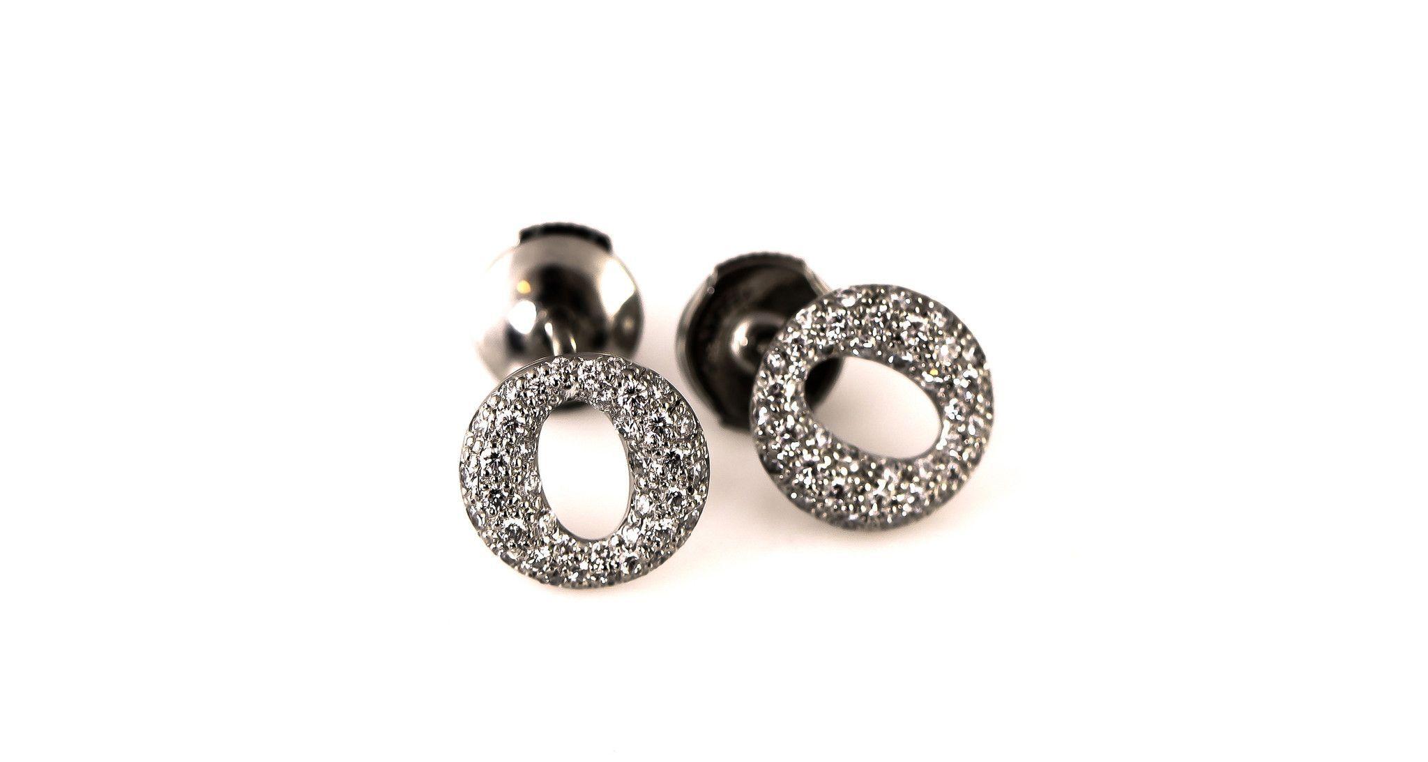 Tiffany & Co Platinum Diamond Opera Earrings (OOS)
