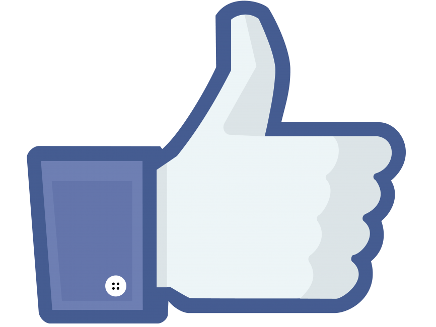 Facebook Like Icon transparent image. Download free